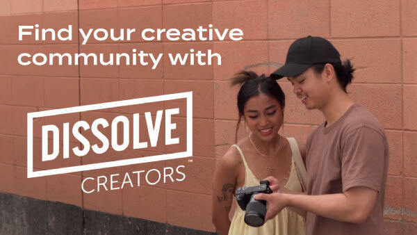 Find your creative community with Dissolve Creators