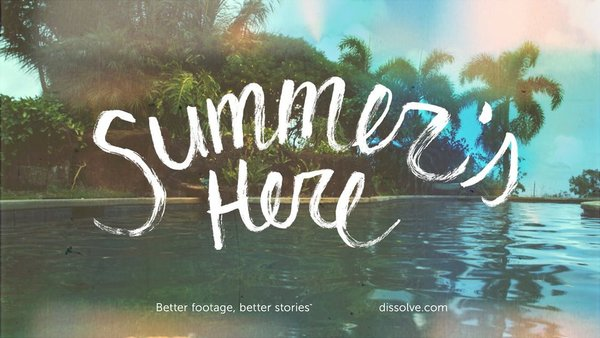 Summer's Here Showreel, from Dissolve