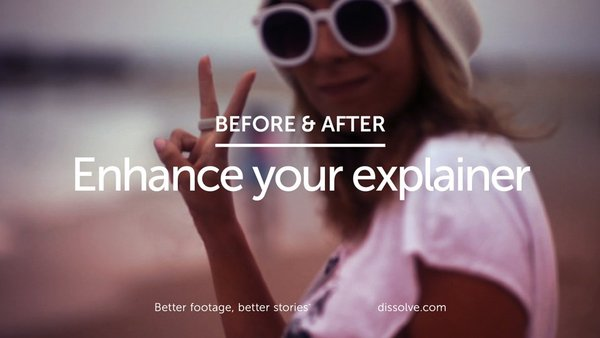 Before & After: Better explainers
